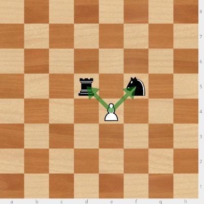 Бьет ли пешка назад в шахматах