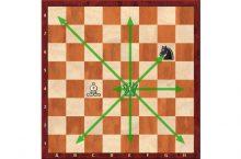 Как ходит ферзь в шахматах