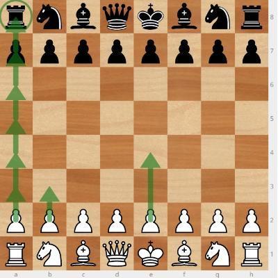 Как ходит пешка в шахматах картинки