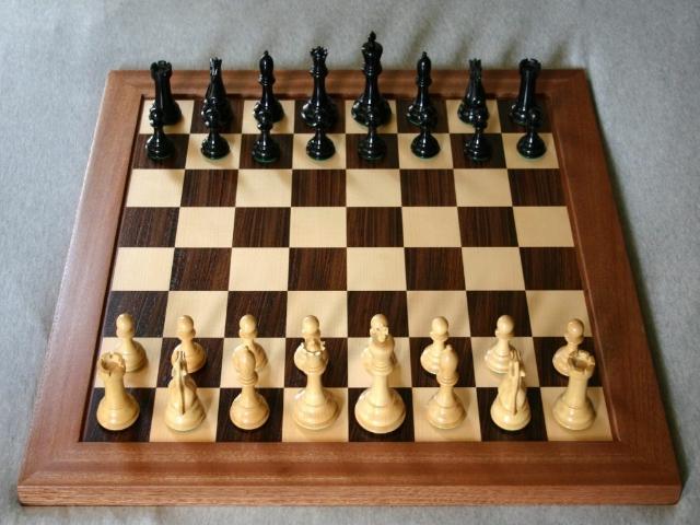 Как стоят шахматы на доске картинки