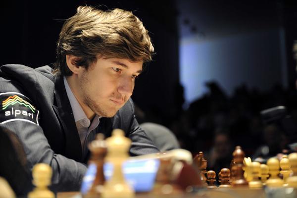Сергей Карякин турнир претендентов по шахматам