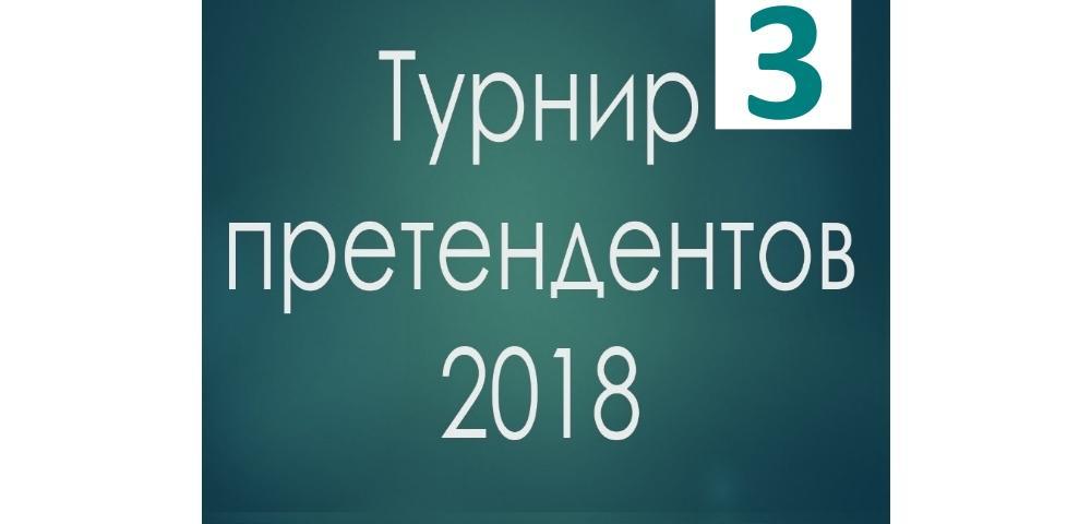 Турнир претендентов 2018 партии 3 тура