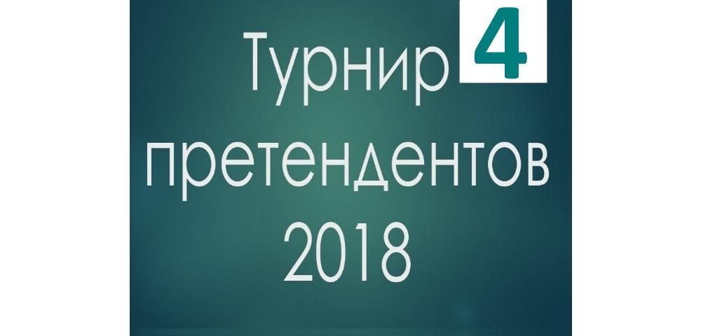 Турнир претендентов 2018 шахматы 4 тур