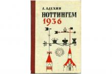 ноттингем 1936 книга алехин