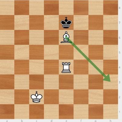 вскрытый шах