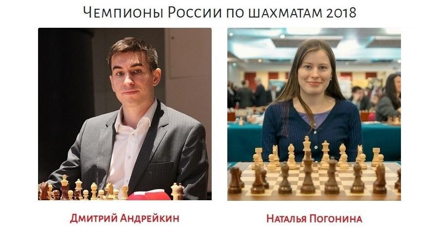 Андрейкин и Погонина - чемпионы России 2018