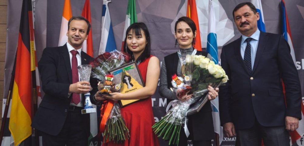 Цзюй Вэньцзюнь сохранила титул чемпионки мира