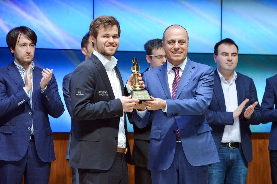 Карлсен выиграл Шамкир 2019 с турнирным рейтингом 2988