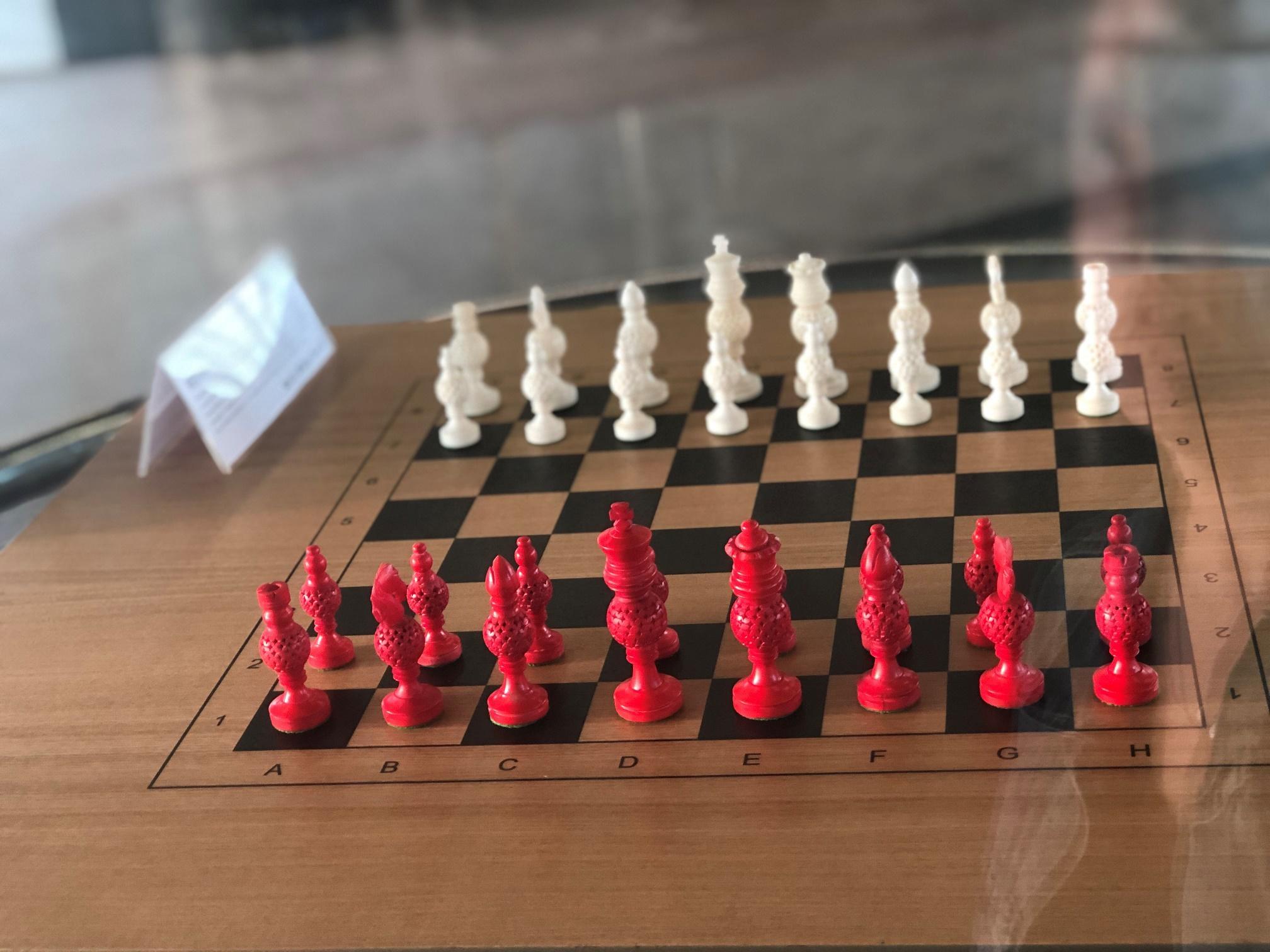 История игры в шахматных комплектах