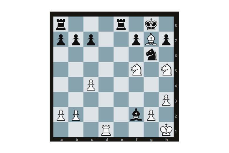 мат конями в шахматах