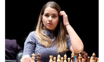 Алина Кашлинская шахматистка фото