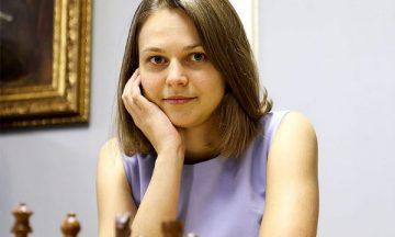 Анна Музычук шахматистка