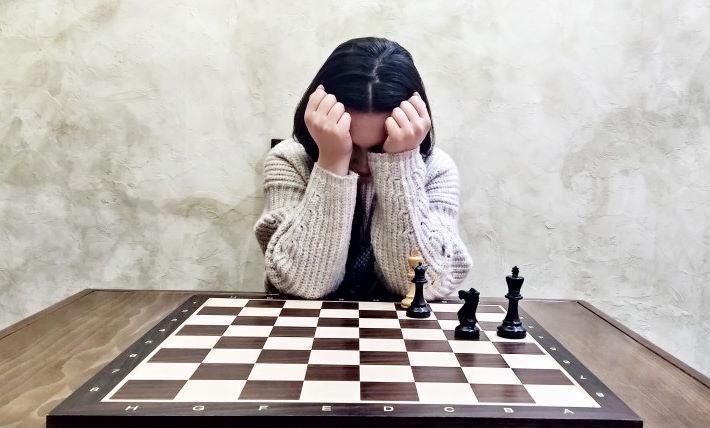 Про полосу неудач в шахматах