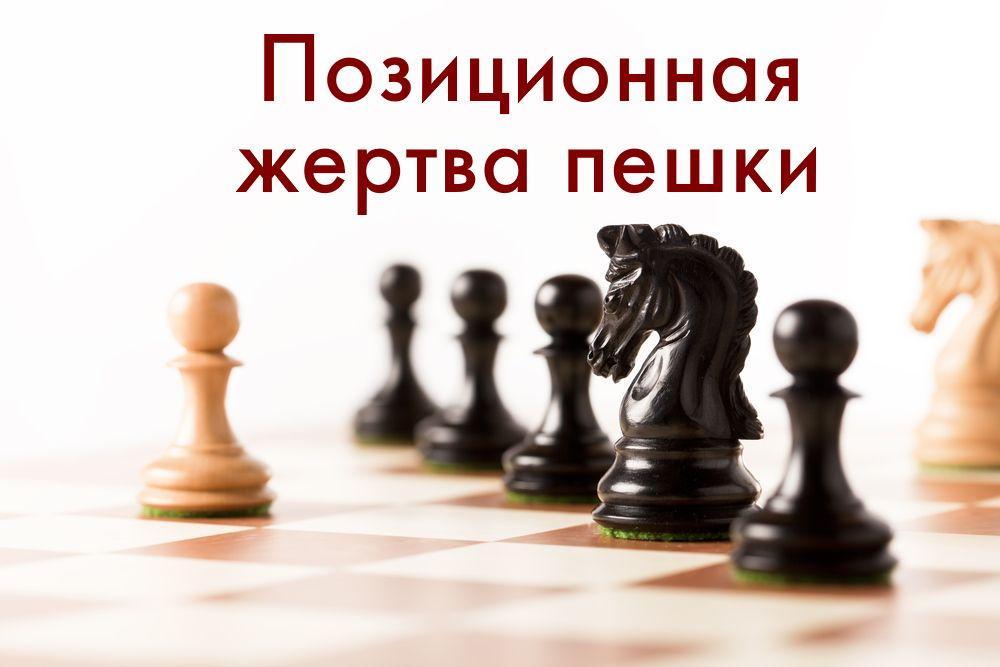 Позиционная жертва пешки шахматы