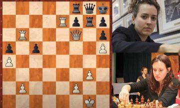 летающие шахматы партия женщин
