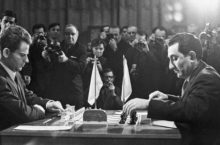 Спасский Петросян шахматы