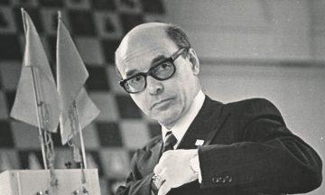 Давид Бронштейн шахматист