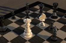 легкие фигуры ферзь шахматы