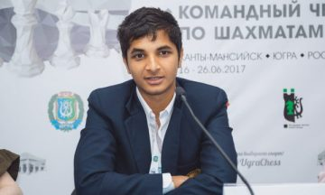 Видит Сантош Гуджрати шахматист