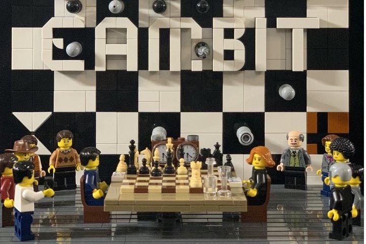 шахматы лего