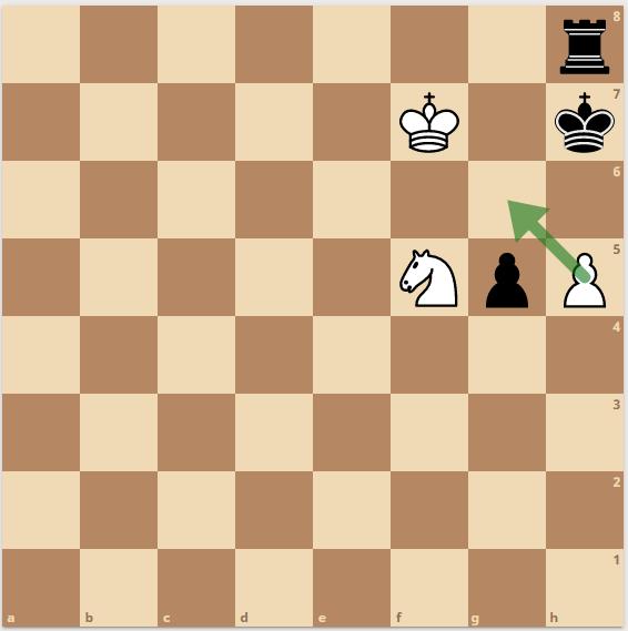 Мат пешкой в шахматах