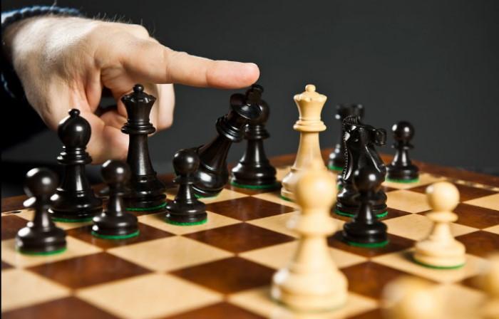 Атака по диагоналям шахматы