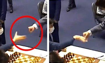 рукопожатие шахматы