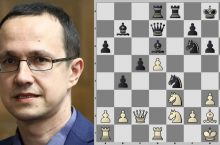жертва четырех фигур шахматы звягинцев славянская защита